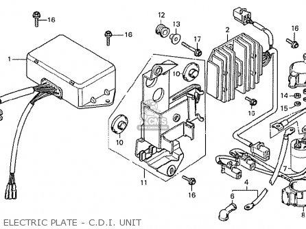 Honda CX500 1978 ITALY parts lists and schematics