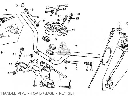 Honda CX500 1978 SOUTH AFRICA parts lists and schematics
