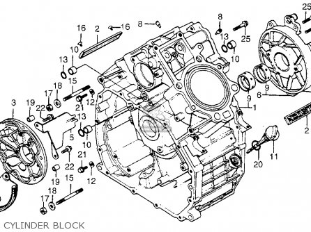 Honda CX500 1978 USA parts lists and schematics