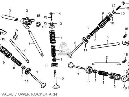 Honda Cx500 1978 Usa parts list partsmanual partsfiche