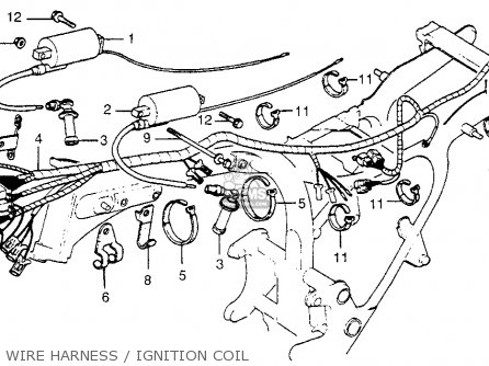 Honda Cx500 1979 (z) Usa parts list partsmanual partsfiche