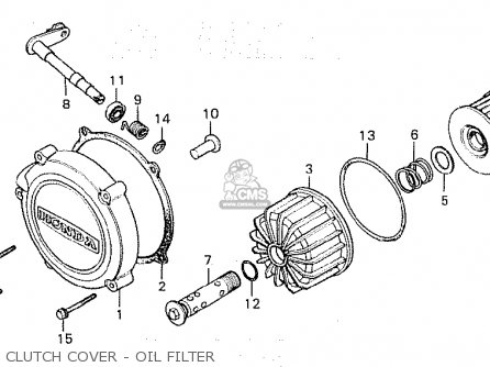 Honda Cx500 1980 (a) Australia parts list partsmanual