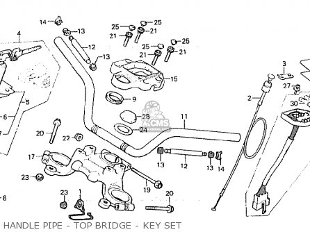 Honda Cx500 1980 (a) Australia parts list partsmanual
