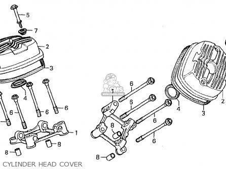 Honda CX500 1980 (A) FRANCE parts lists and schematics