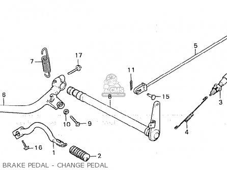 Honda Cx500 1980 (a) General Export / Kph parts list