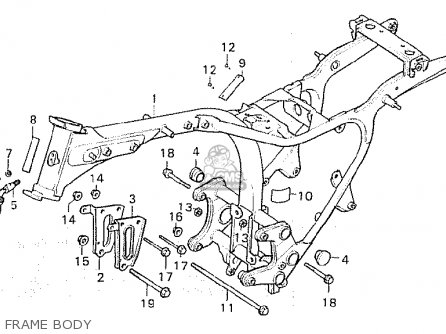 Honda Cx500 1980 (a) Italy parts list partsmanual partsfiche