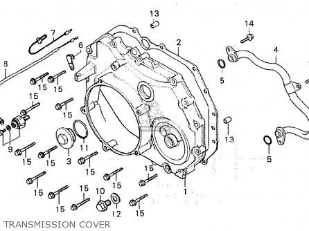 Honda Cx500 1980 (a) Italy parts list partsmanual partsfiche