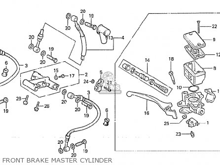 Honda Cx500 1981 (b) Australia parts list partsmanual