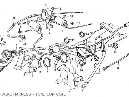 Honda Cx500 1981 (b) General Export / Kph parts list
