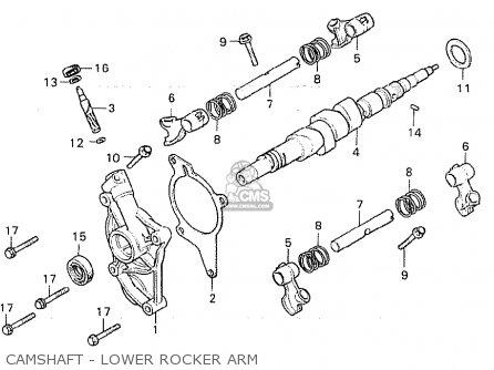 Honda Cx500 1981 (b) Germany / Full Power parts list