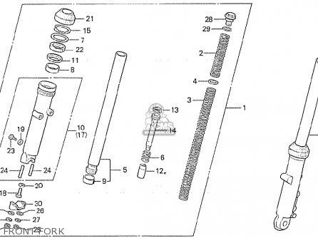 Honda CX500 1981 (B) ITALY parts lists and schematics