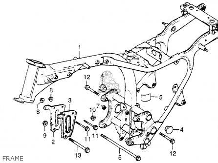 Honda CX500C CUSTOM 1979 (Z) USA parts lists and schematics