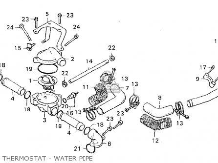 Honda CX500C CUSTOM 1980 (A) AUSTRALIA parts lists and