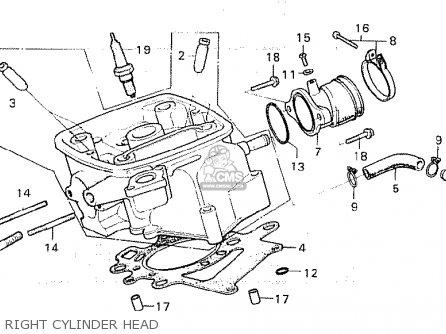 Honda CX500C CUSTOM 1980 (A) EUROPEAN DIRECT SALES parts