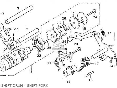 Honda Cx500c Custom 1980 (a) France parts list partsmanual