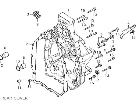 Honda CX500C CUSTOM 1980 (A) GERMANY / FULL POWER parts