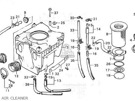 Honda CX500C CUSTOM 1980 (A) ITALY parts lists and schematics