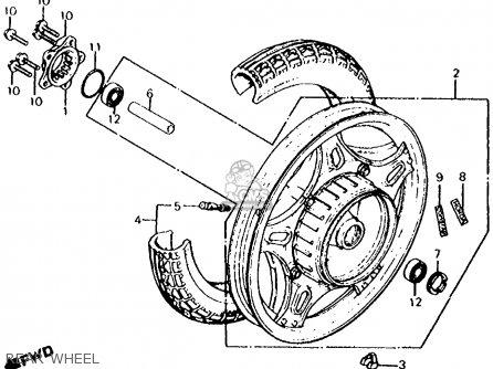 Honda CX500C CUSTOM 1980 (A) USA parts lists and schematics