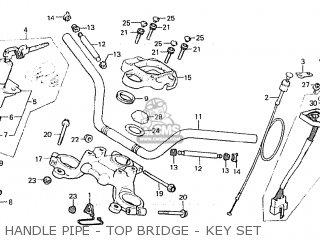 Honda Cx500c Custom 1981 (b) European Direct Sales parts