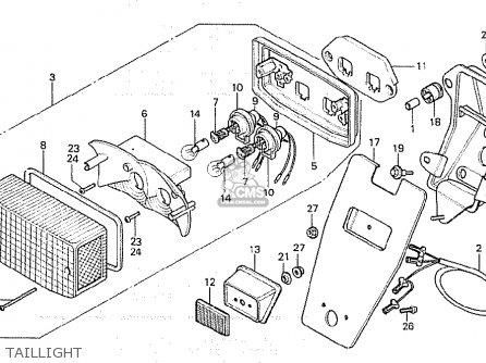 Honda CX500C CUSTOM 1981 (B) GERMANY / 27PS parts lists