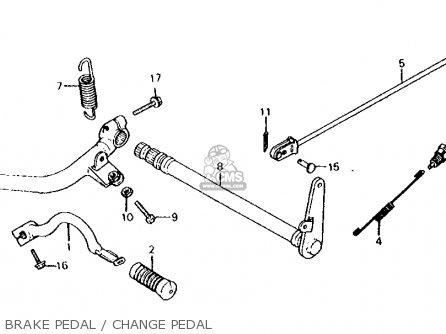 Honda Cx500c Custom 1981 (b) Usa parts list partsmanual
