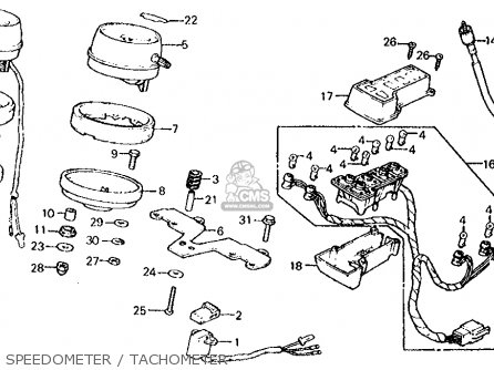 Honda CX500C CUSTOM 1982 (C) USA parts lists and schematics