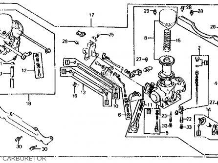 Honda Cx500c Custom 1982 Usa parts list partsmanual partsfiche