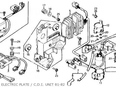1978 Honda Cx500 Wiring Diagram, 1978, Free Engine Image