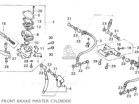Honda Cx500ca Custom 1980 (france) parts list partsmanual