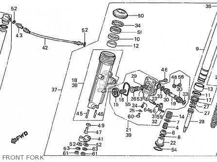 Honda Cx500t Turbo 1982 (c) European Direct Sales parts