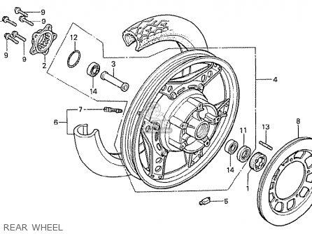 Honda CX500T TURBO 1982 (C) GERMANY parts lists and schematics