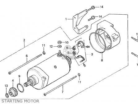 Honda CX500T TURBO 1982 (C) ITALY parts lists and schematics