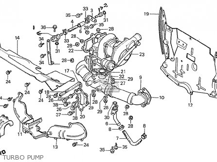 Honda CX500T TURBO 1982 (C) ITALY parts lists and schematics