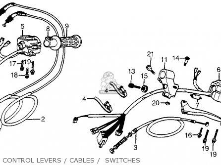 Honda Cx500t Turbo 1982 (c) Usa parts list partsmanual