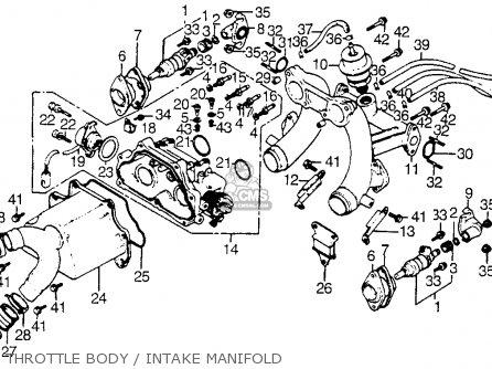 Honda CX500T TURBO 1982 (C) USA parts lists and schematics