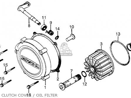 Honda CX650C CUSTOM 1983 (D) USA parts lists and schematics