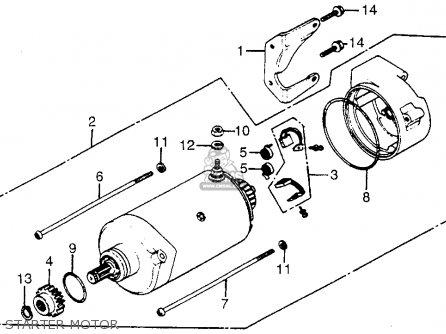 Honda Cb700sc 1985 Nighthawk S Usa Starter Clutch