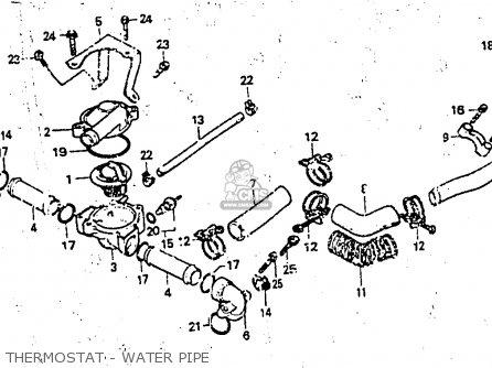 Honda Cx650e 1983 (d) Belgium parts list partsmanual