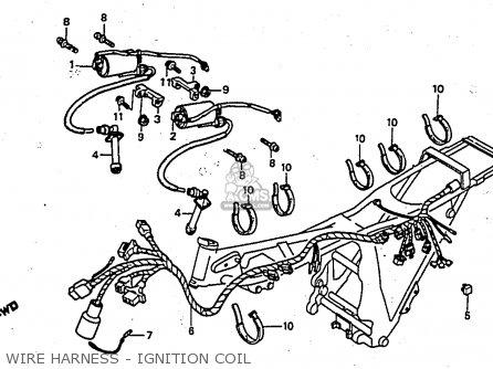 Honda CX650E 1983 (D) CANADA parts lists and schematics