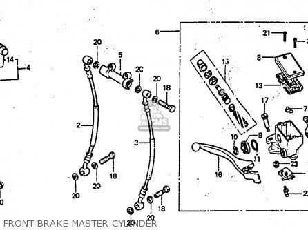 Honda CX650E 1983 (D) ITALY parts lists and schematics