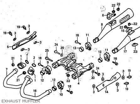 Honda Cx650e 1983 (d) North Europe parts list partsmanual