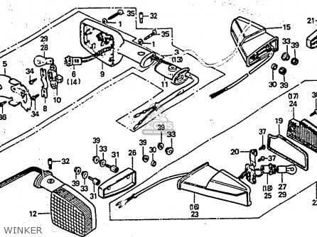 1983 Honda Civic Radio Wiring Harness Diagram