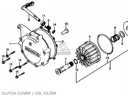 Honda Cx650t Turbo 1983 (d) Usa parts list partsmanual