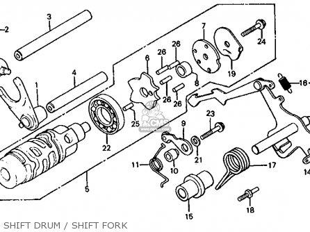 Honda CX650T TURBO 1983 (D) USA parts lists and schematics