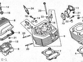 Honda CY50 1980 (A) JAPAN parts lists and schematics