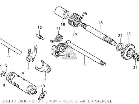 Honda Cy50 K2 Belgium parts list partsmanual partsfiche