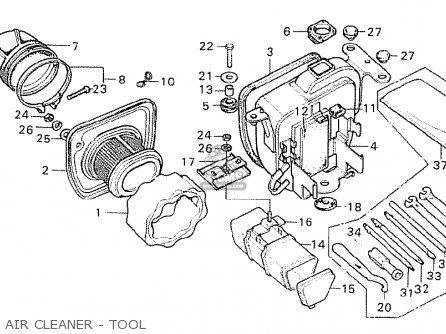 Honda CY50 K2 GERMANY parts lists and schematics