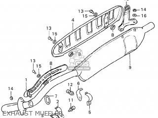 Honda Cy50 K2 Germany parts list partsmanual partsfiche
