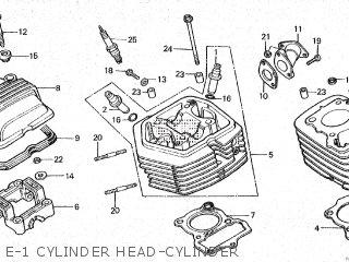 Honda Cy80 1979 (z) France parts list partsmanual partsfiche