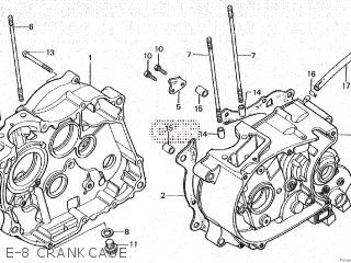 Honda CY80 1979 (Z) FRANCE parts lists and schematics